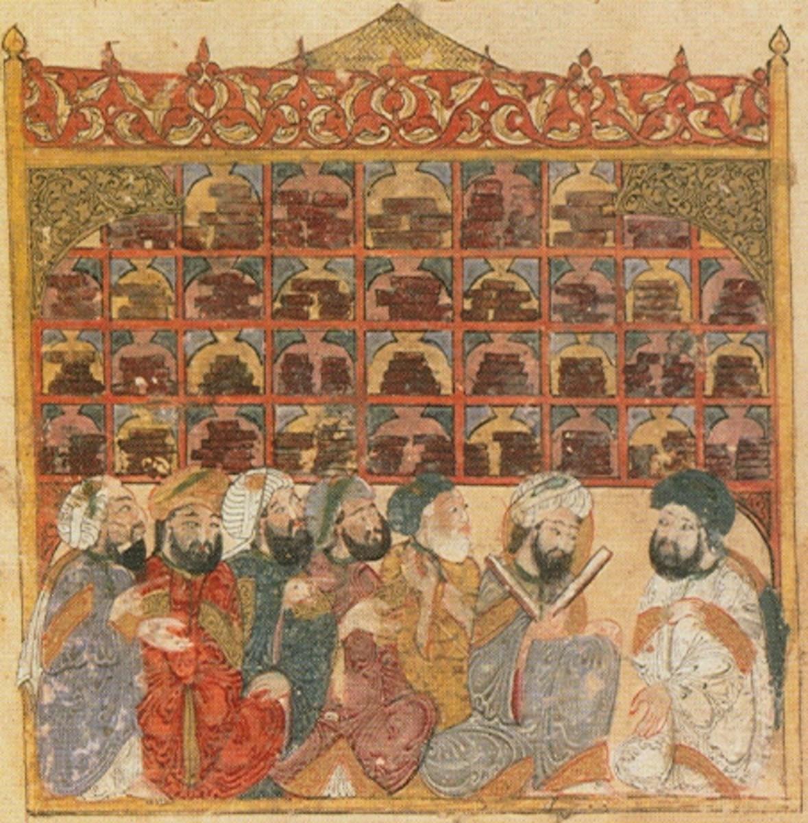 Abbasid Library, Baghdad, 1237