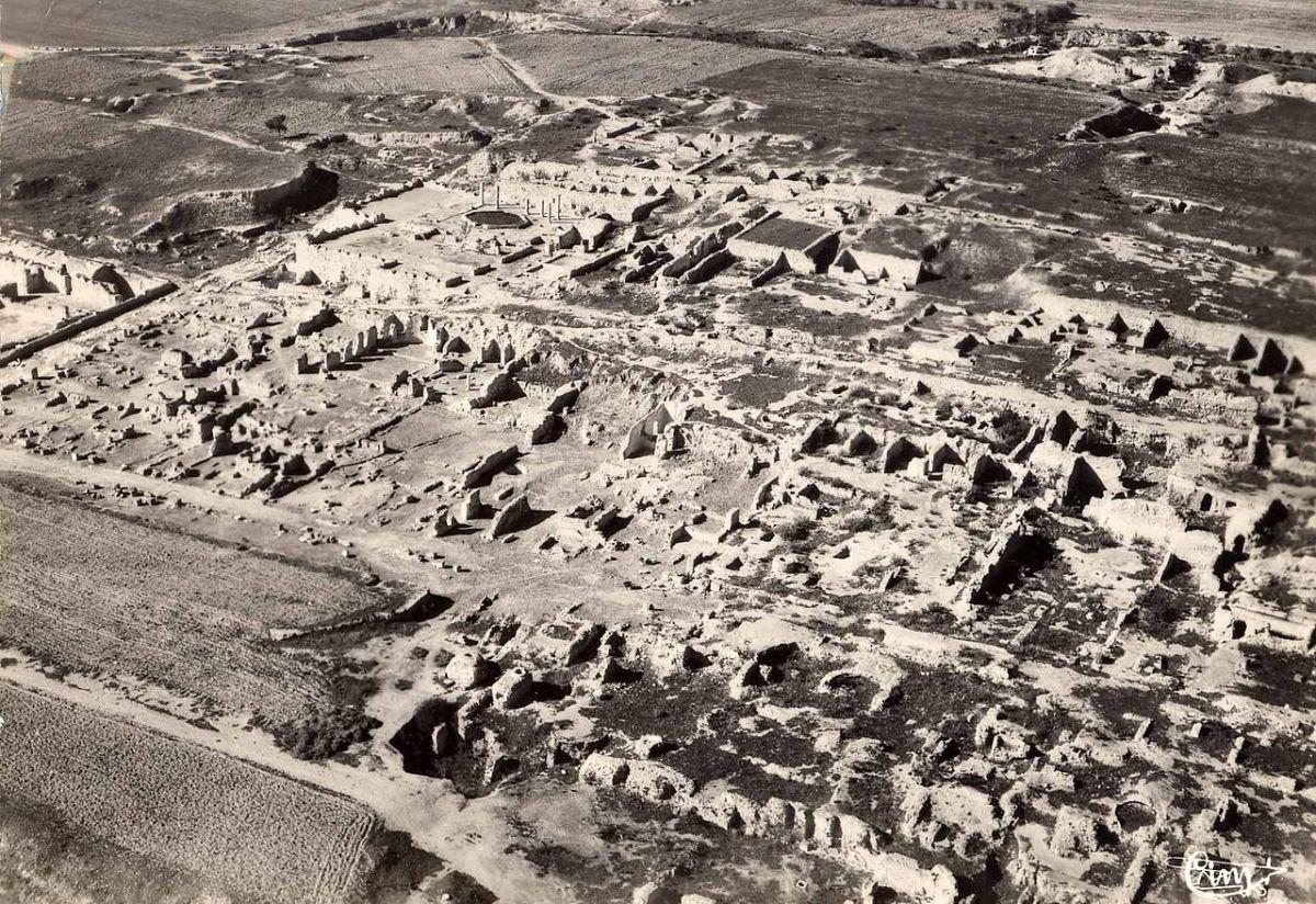 Carthage ruins, 1950