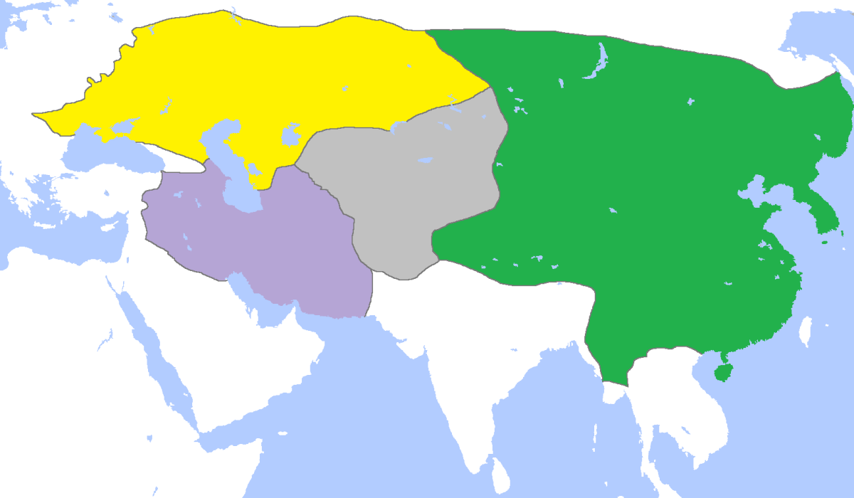 Mongol Empire 1300 A.D.