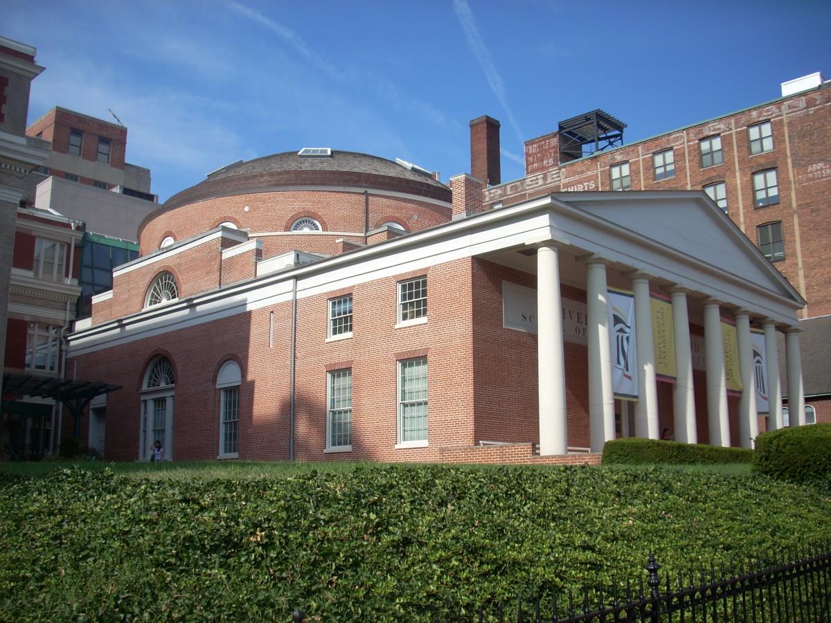 Davidge Hall, University of Maryland School of Medicine, Baltimore