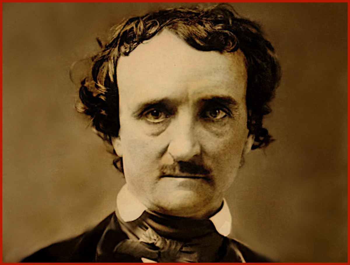 "Edgar Allan Poe's poems are among the most famous of any American writer.  Among his many works are ""The Murders in the Rue Morgue,"" and ""The Fall of the House of Usher."""