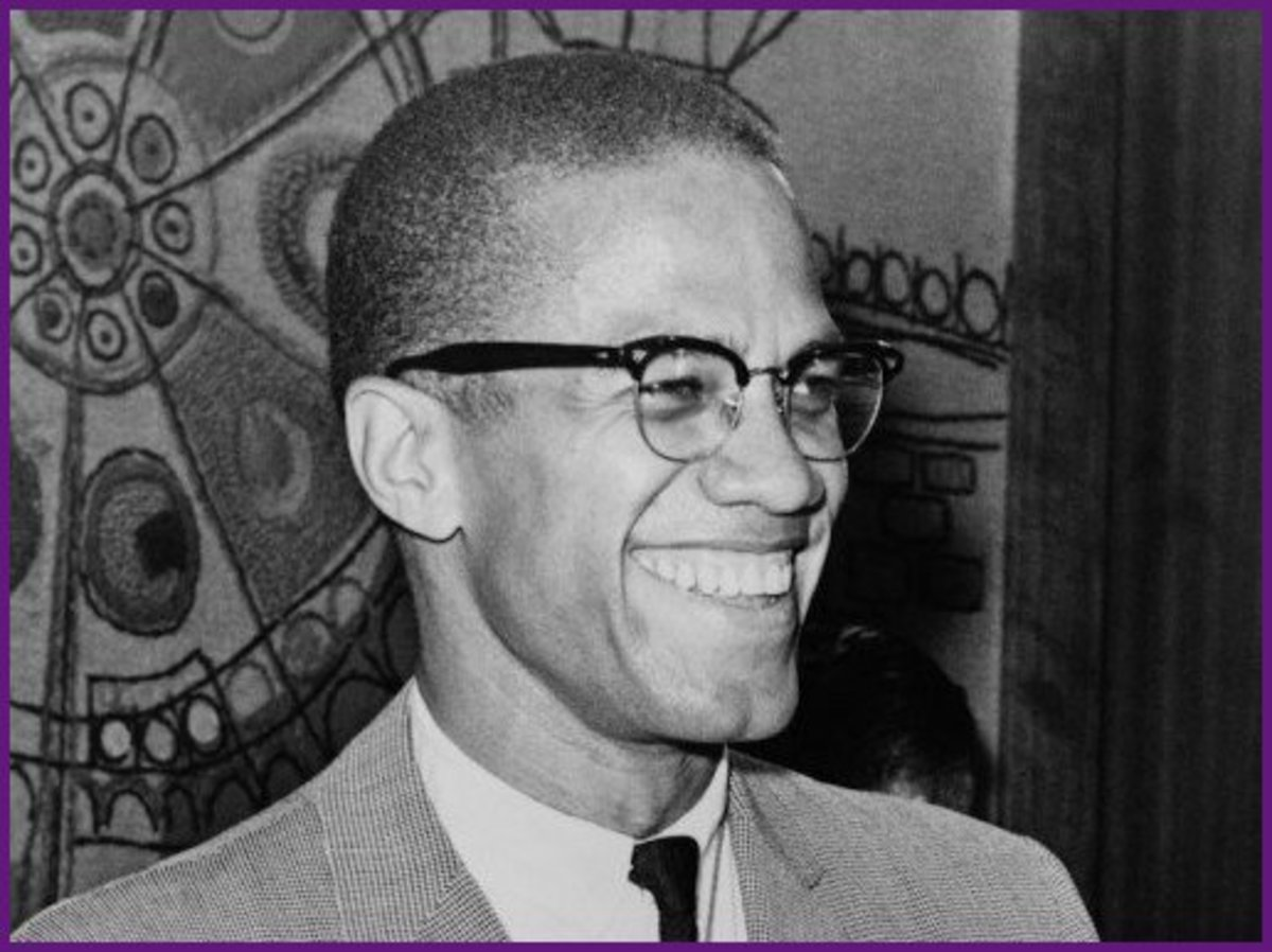 Malcolm X grew up from an orphan to become a powerful African-American activist.