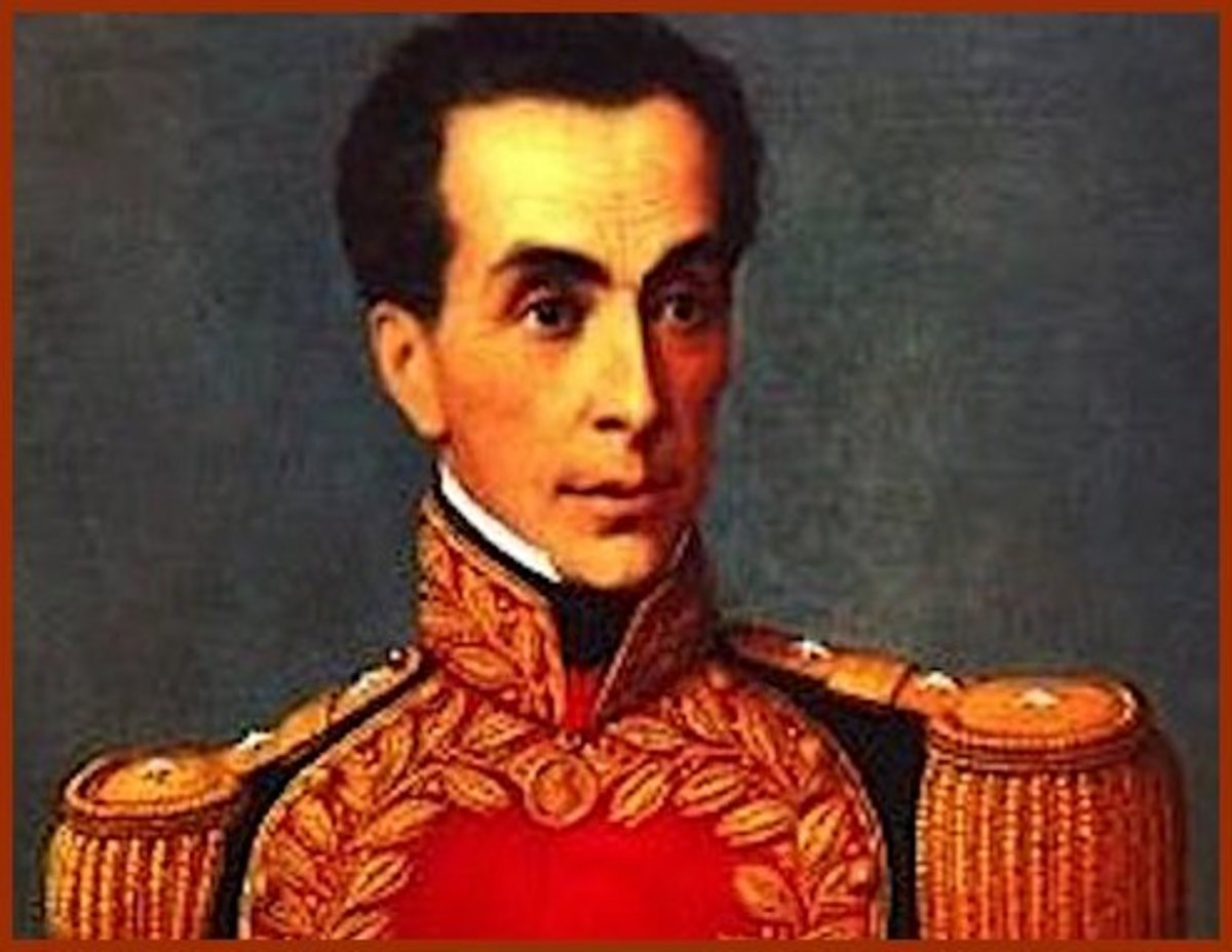 South America's most famous orphan: Simon Bolivar, the Great Liberator.