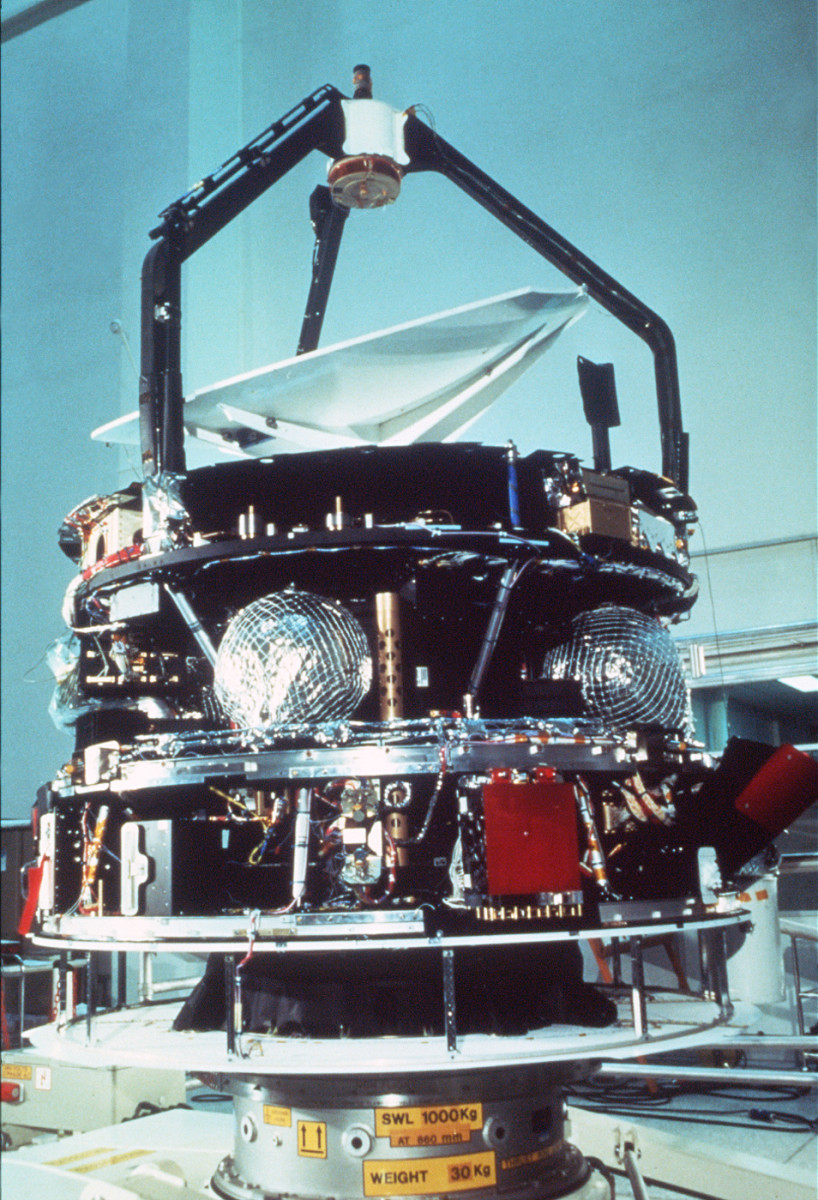 Giotto during production phase.