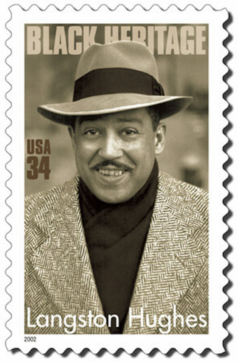 Langston Hughes - Commemorative Stamp