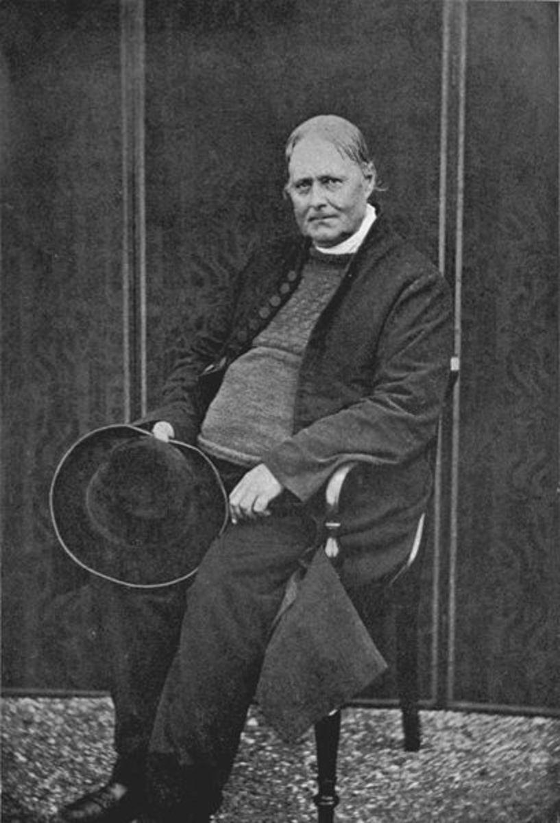 Rev. Hawker aged 61