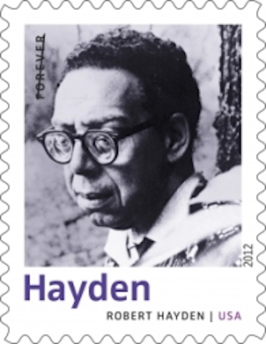 Robert Hayden Commemorative Stamp