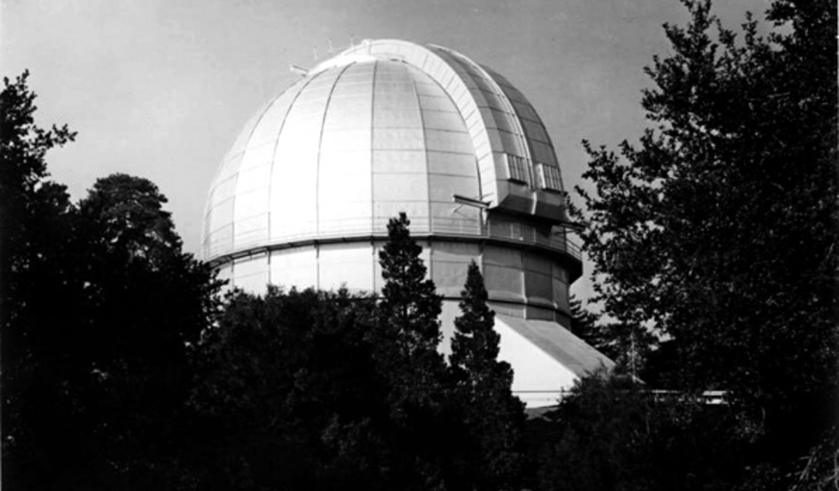Mt. Wilson Observatory.