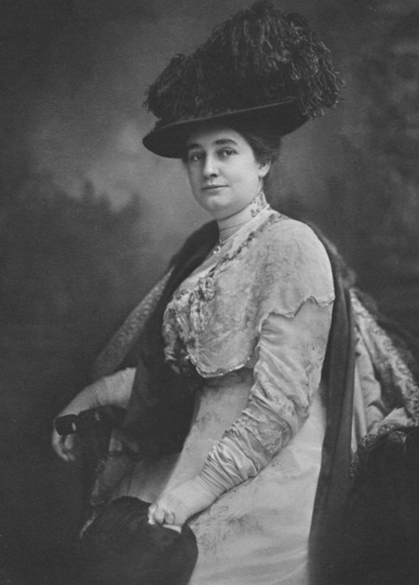 Thomas Edison's second wife.