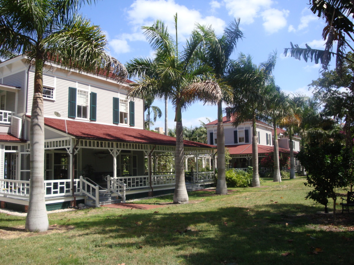 Edison's winter home in Ft Meyers, Florida.