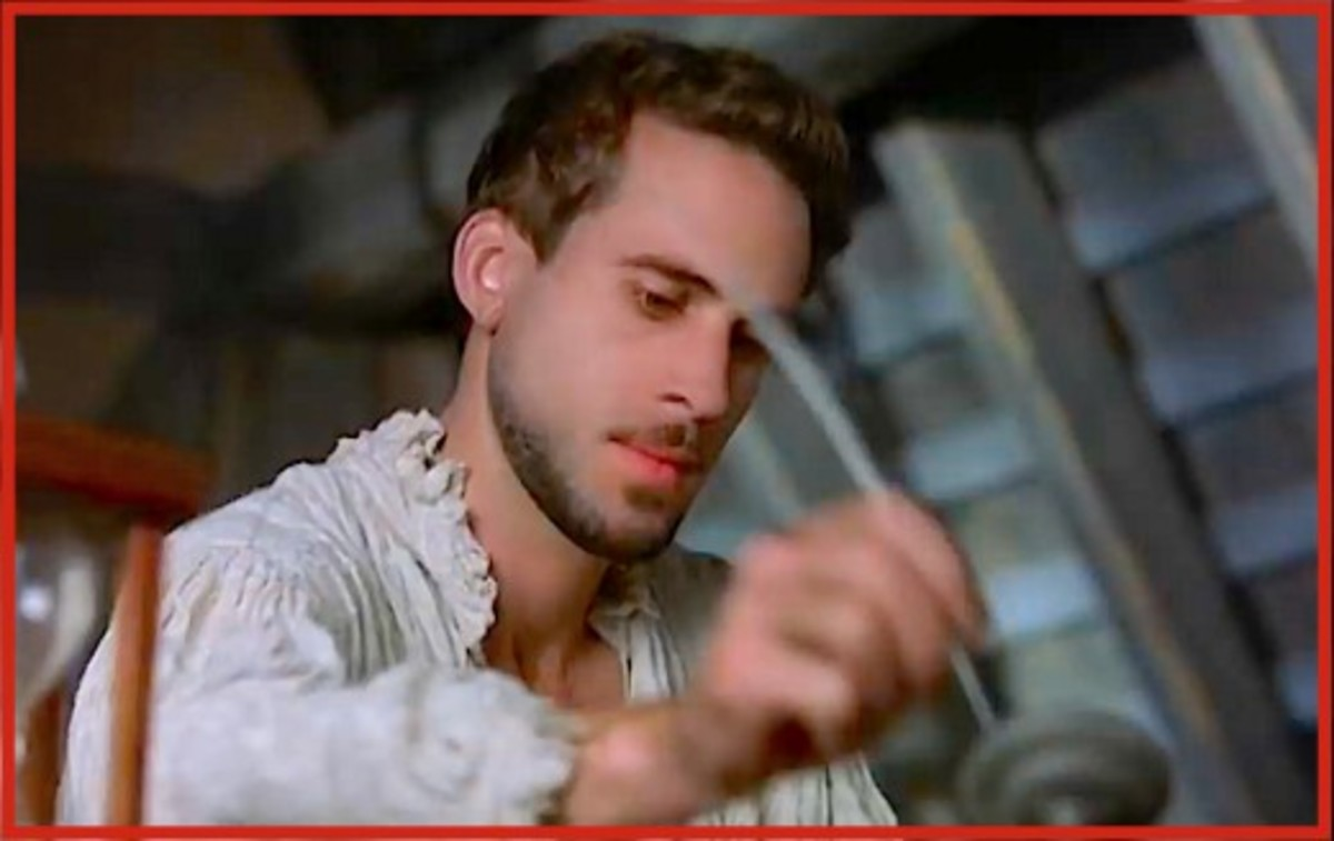 "Actor Joseph Fiennes played William Shakespeare in the Academy Award-winning movie, ""Shakespeare in Love."""