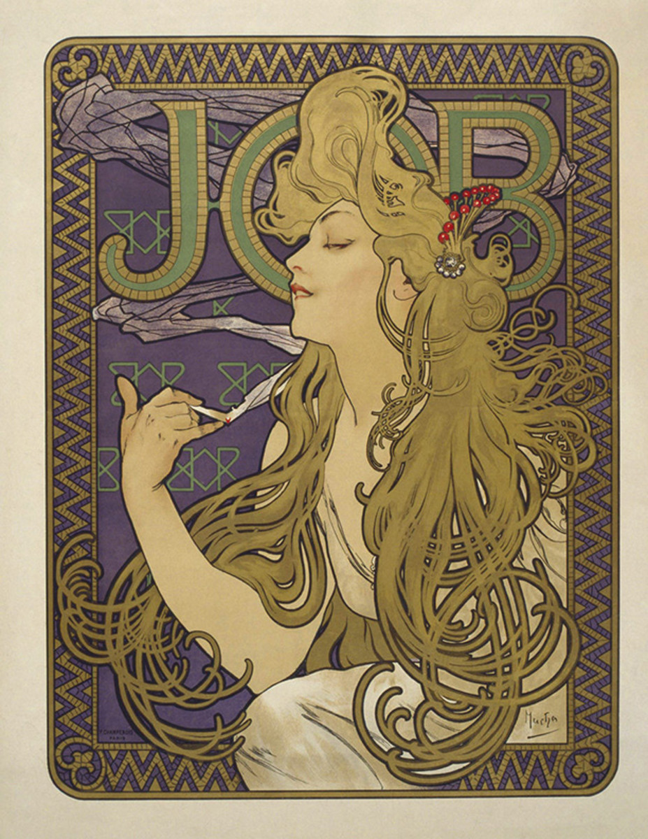 'Job' Cigarette Paper