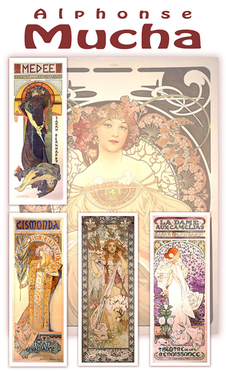 Artists with Tragic Deaths:  Alphonse Mucha