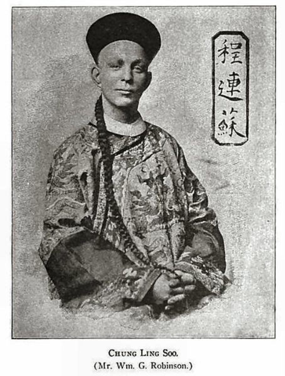 Bill Robinson aka Chung Ling Soo