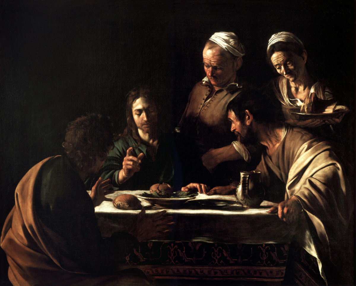 Supper at Emmaus, 1607