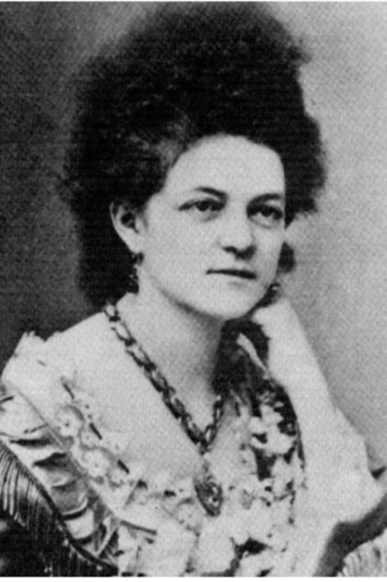 Eleanor Dumont earned her nickname when she developed a mustache in her later years.