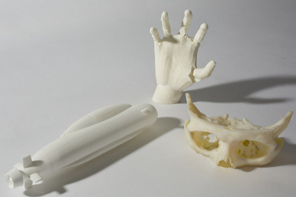 Bones 3D printed around 2013.