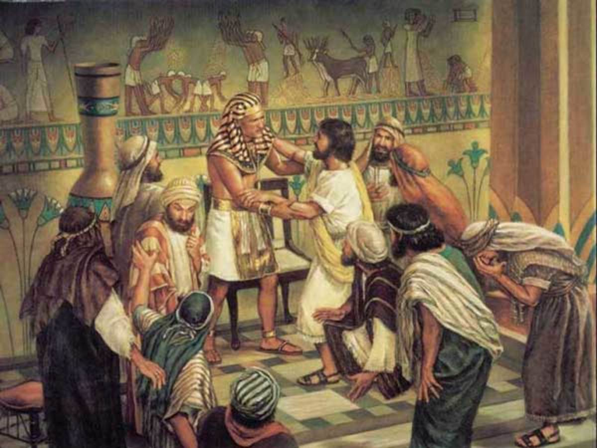 Joseph Meets Pharaoh