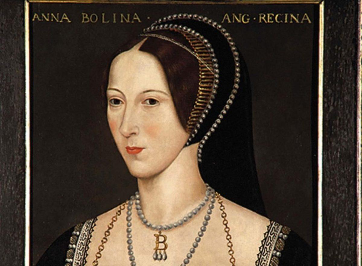 The Maid in the Garden - Anne Boleyn