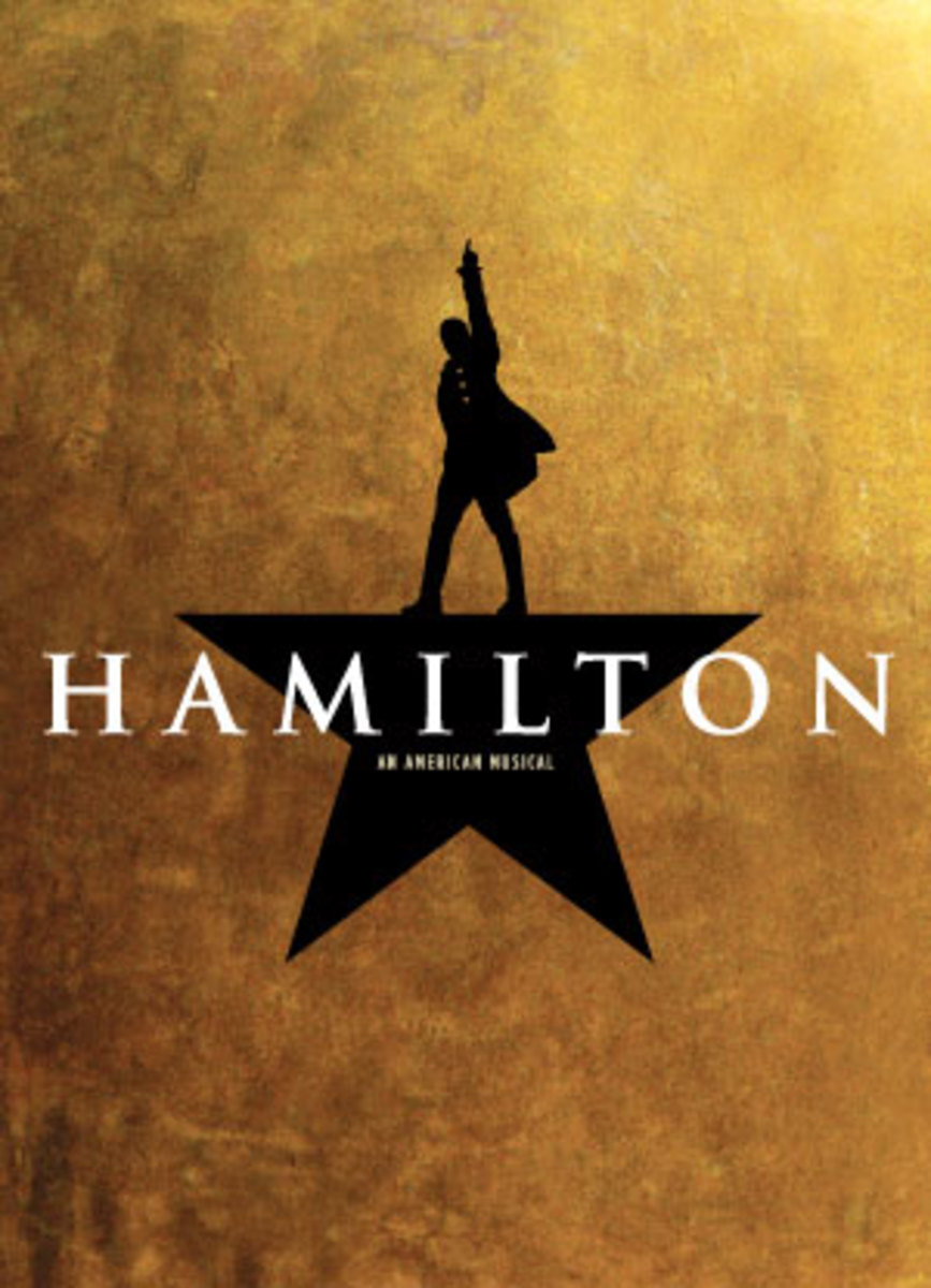 Hamilton - award winning Broadway musical