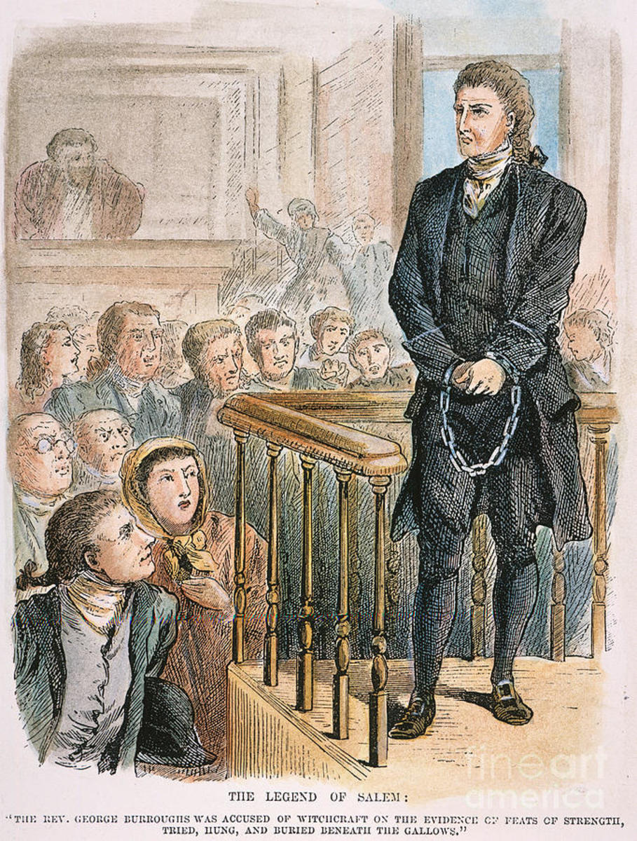 The trial of George Burroughs