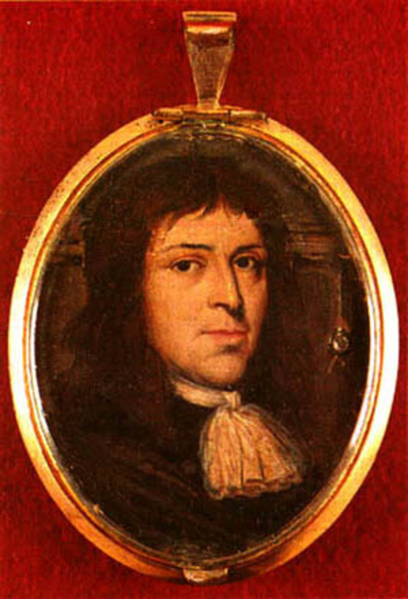 Robert Calef—a cloth merchant in colonial Boston who came to America before 1688. He was the author of More Wonders of the Invisible World, a book composed throughout the mid-1690s