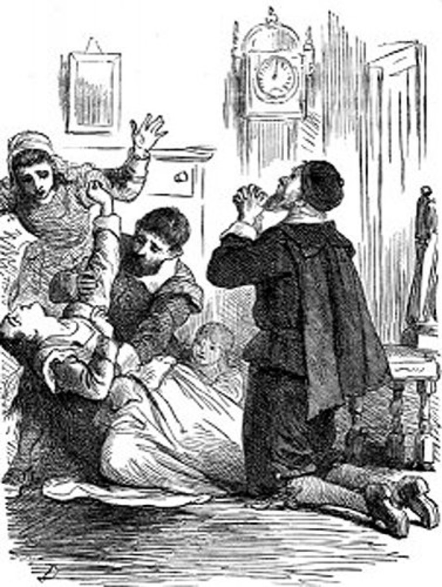 The Afflicted at Salem, Massacusetts