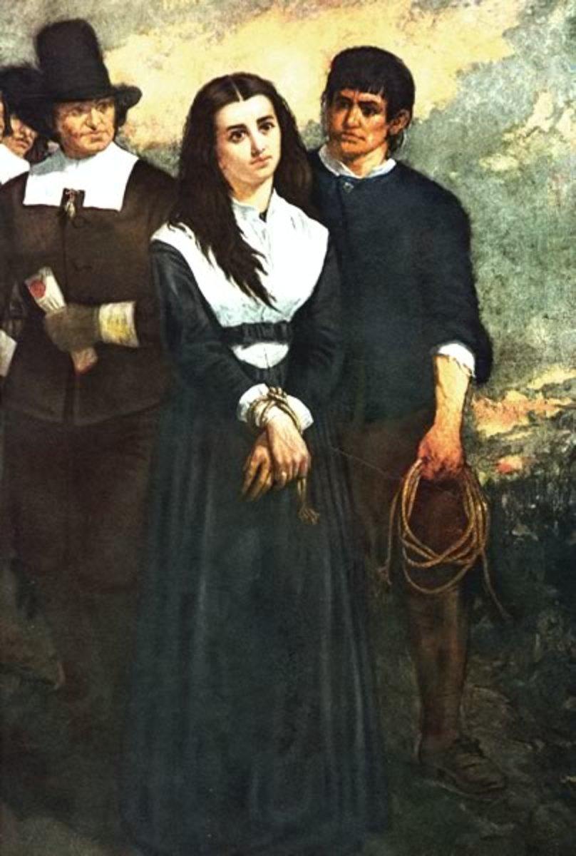 Oil painting by New York artist Thomas Slatterwhite Noble, 1869.