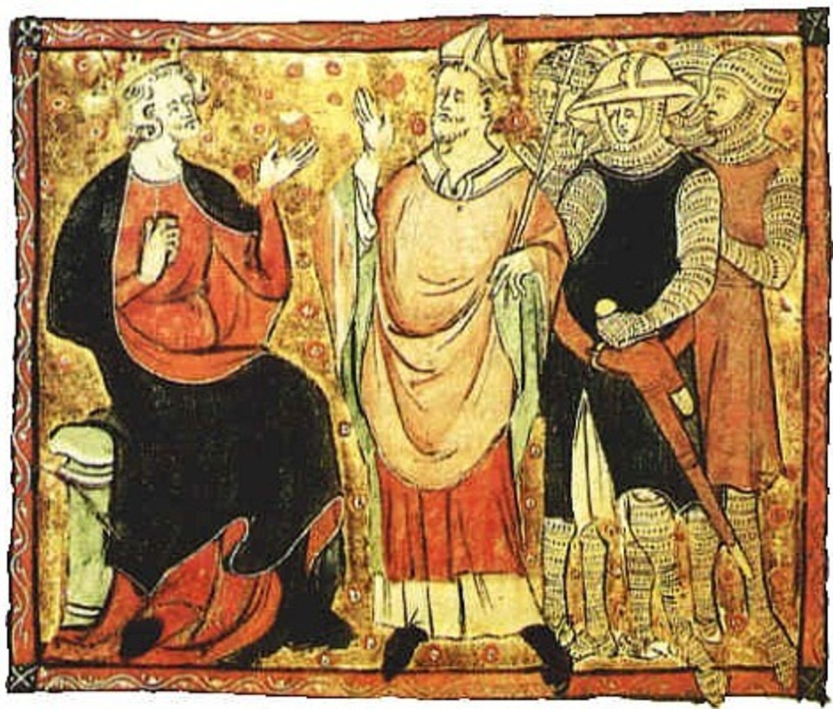 Thomas Becket born 21st December 1119 died 29th December 1170 and King Henry II born 5th March 1133 died 6th July 1189