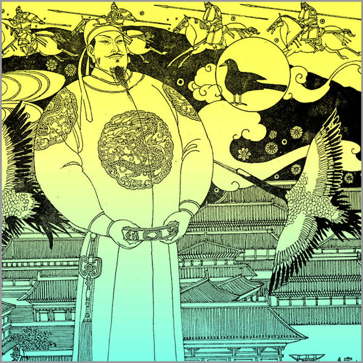 Tang Taizong. Some Chinese historians consider him the greatest Chinese emperor of all times.