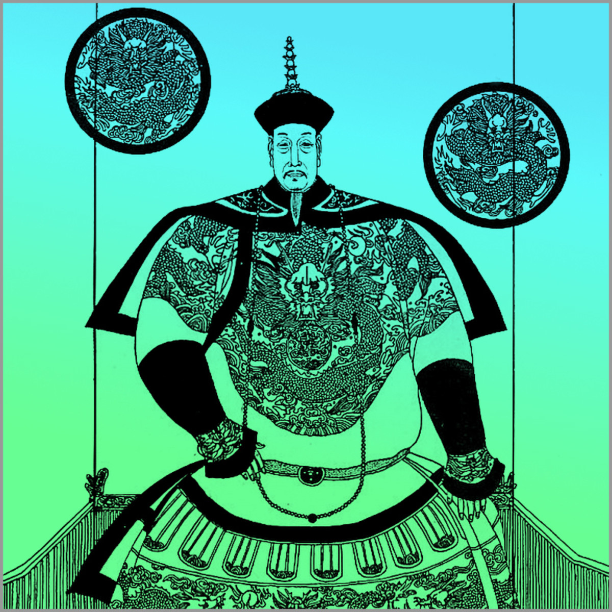 "Emperor Qianlong. Rather full of himself, he styled himself as the ""old man of 10 perfections"" in his later years. However, he did reign over one of China's most prosperous eras."