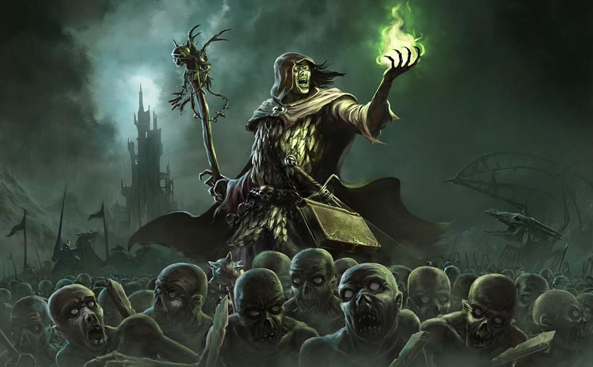 Necromancy and Magic