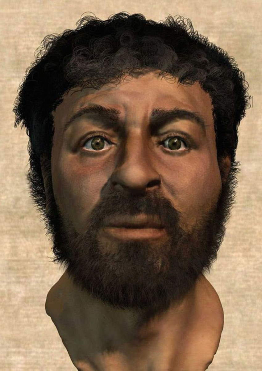 Retired medical artist Richard Neave has recreated the face of Jesus