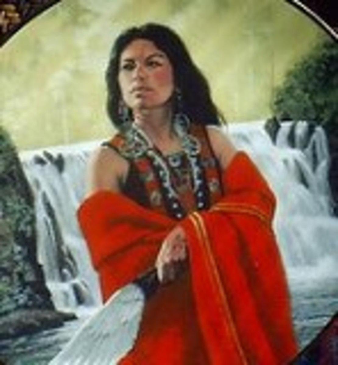 Depiction of Nancy Ward
