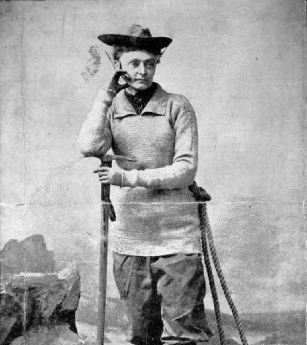 Annie Smith Peck, 1878.
