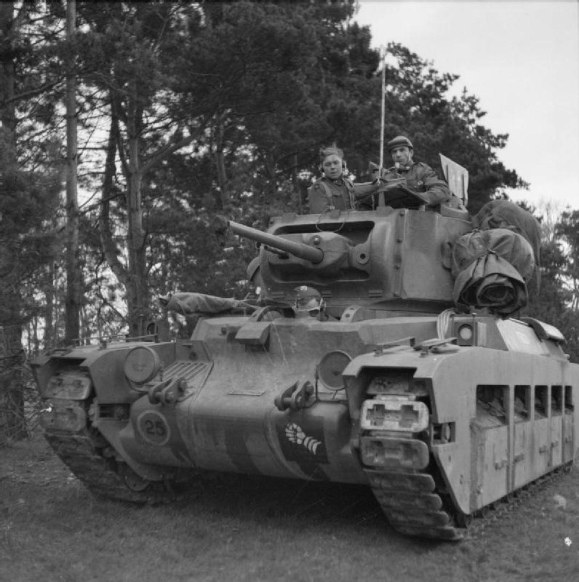 The British Matilda tank used in the Battle for France though heavily armored it was under gunned.