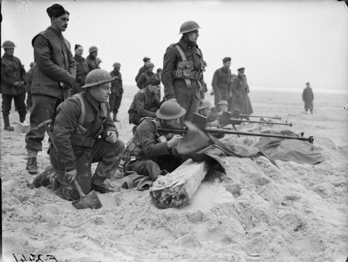British troops on the Western Front 1940.