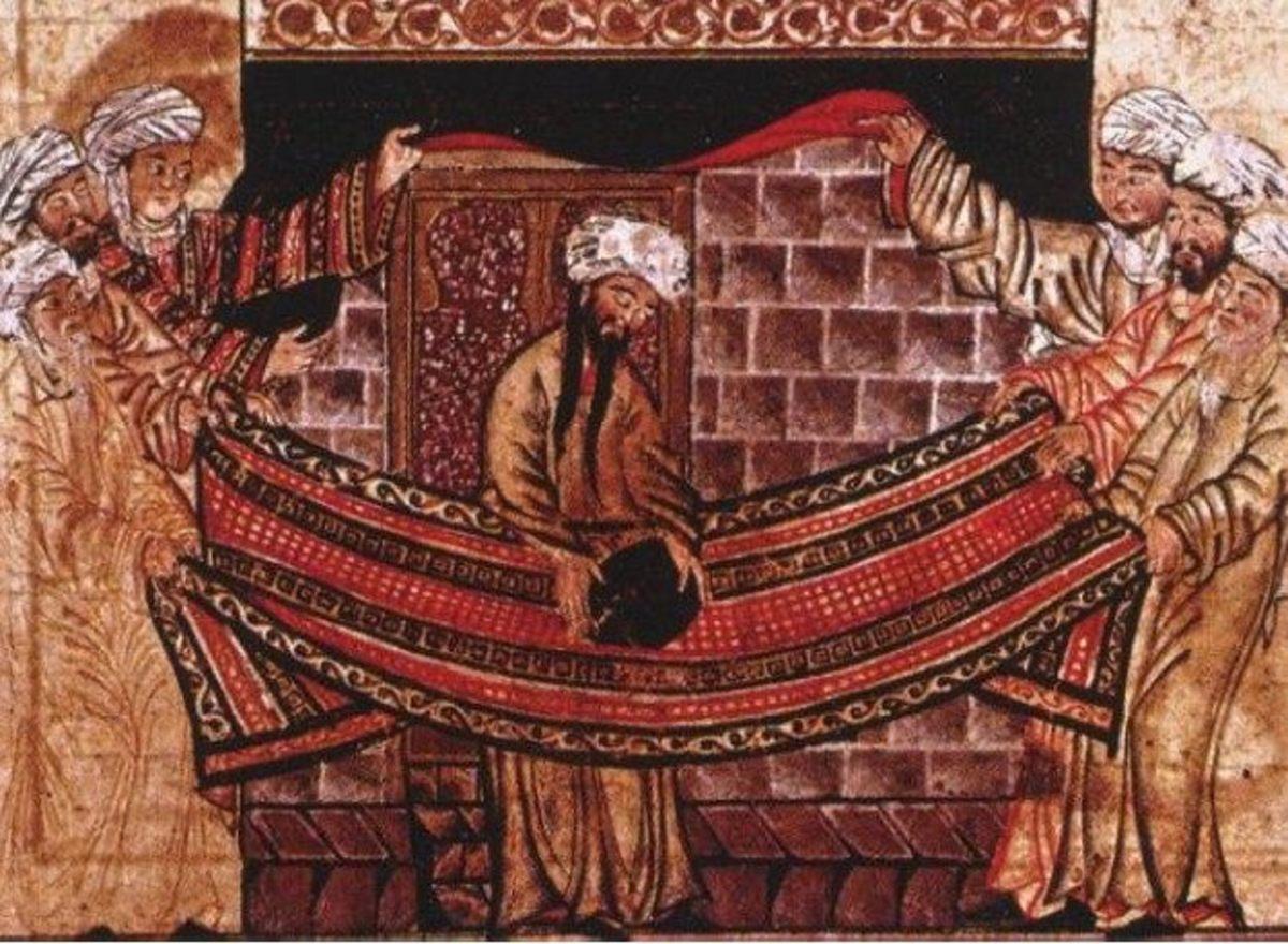Muhammad directing Black Stone