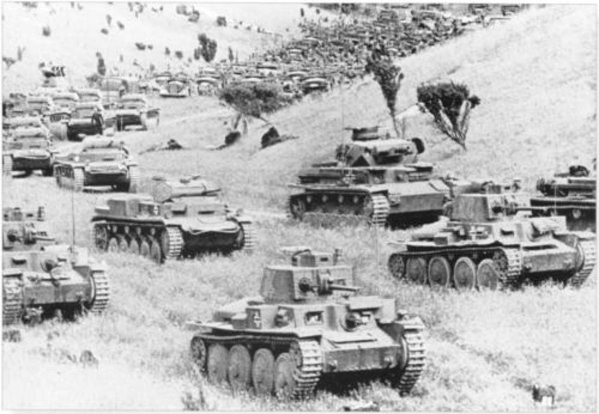 Panzer Group Von Kleist in France 1940.
