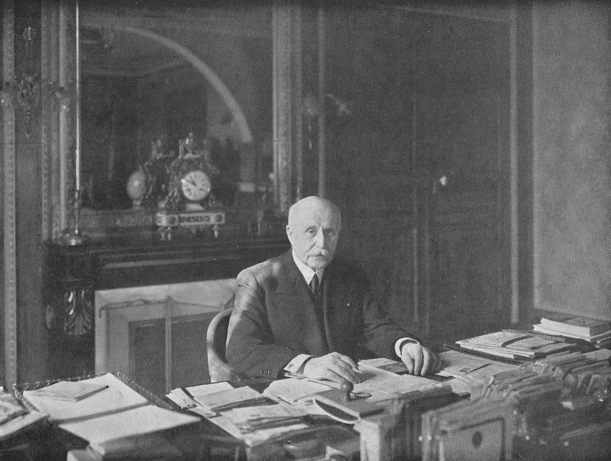 Henri Philippe Petain the hero of Verdun 30 years after the battle, now the Marshal of France who adopted the defense first strategy.