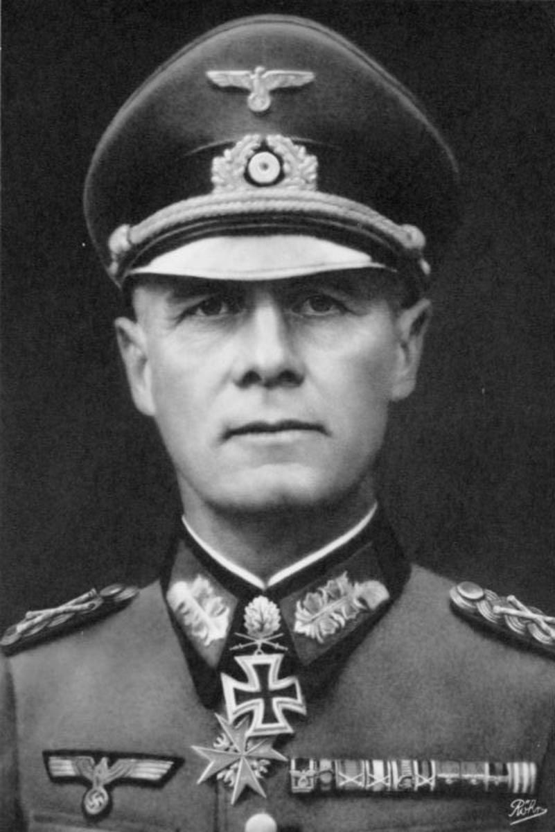 Erwin Rommel led the 7th Panzer Division as it raced toward the Channel coast of France.