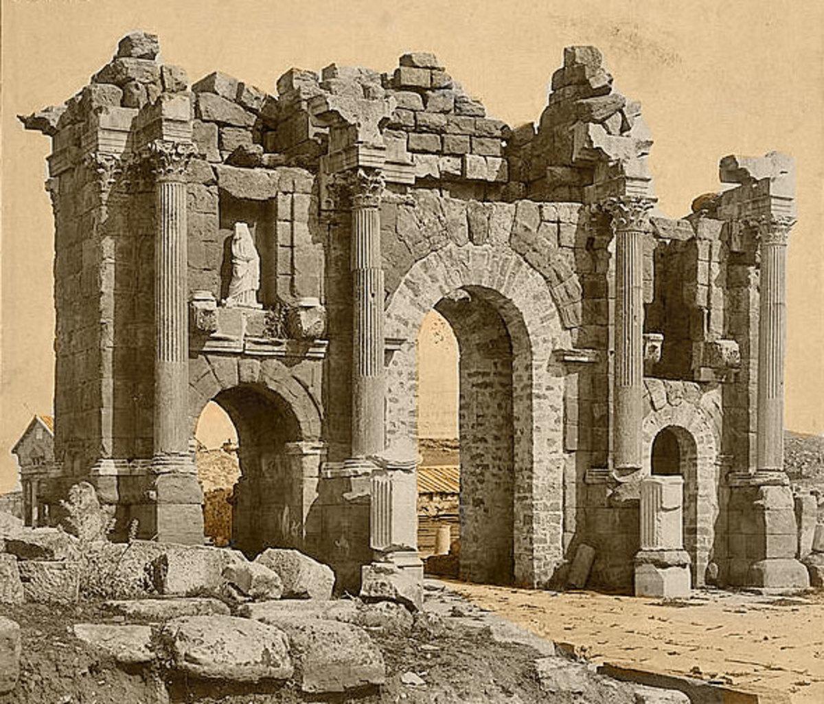 Roman archway