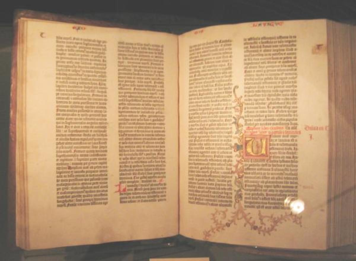 Gutenberg Bible: The first Bible printed for the masses