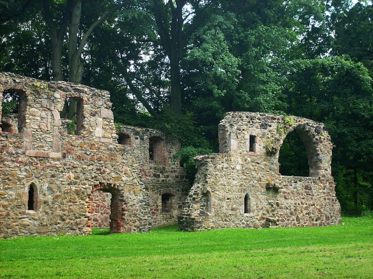 Ruins of Katharina's Convent at Nimbschen