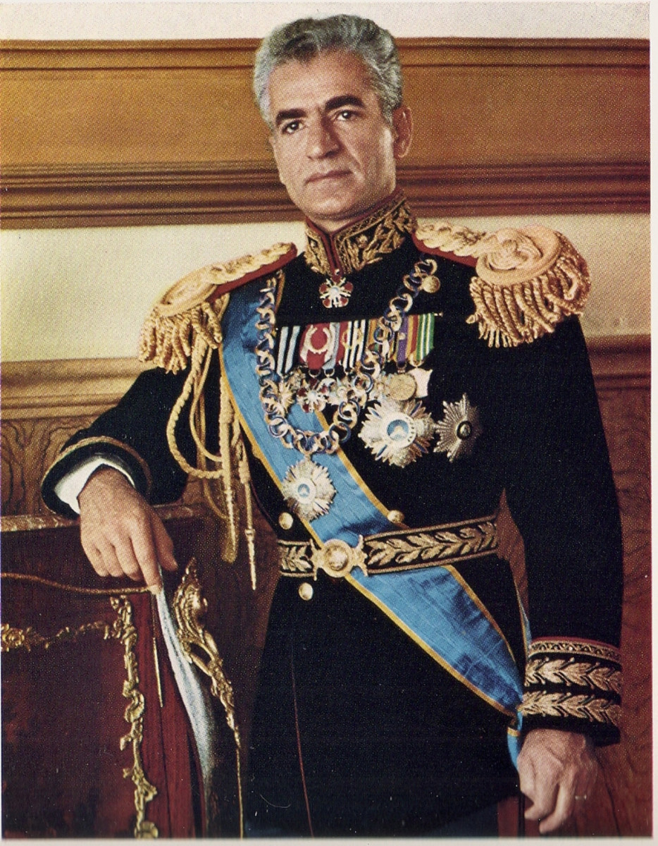The last Shah of Iran