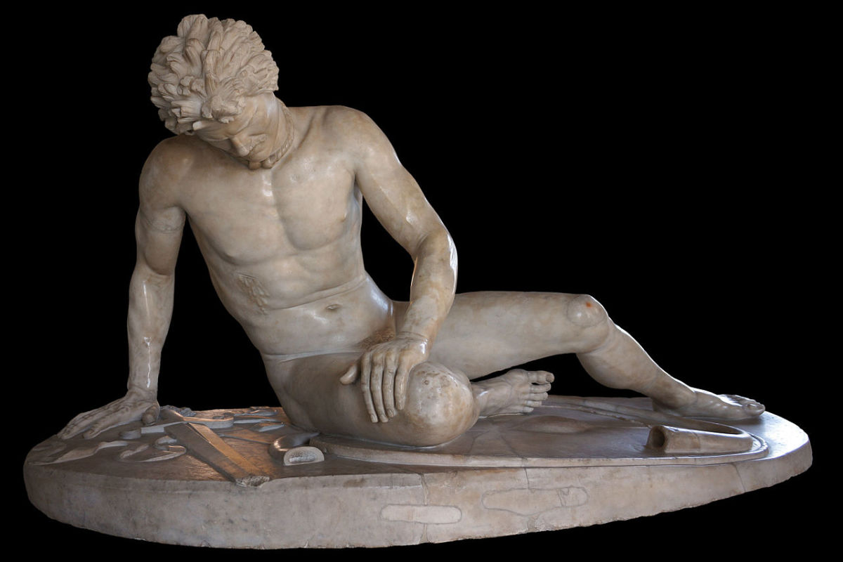 Dying Gaul - Roman Copy Of A Greek Sculpture