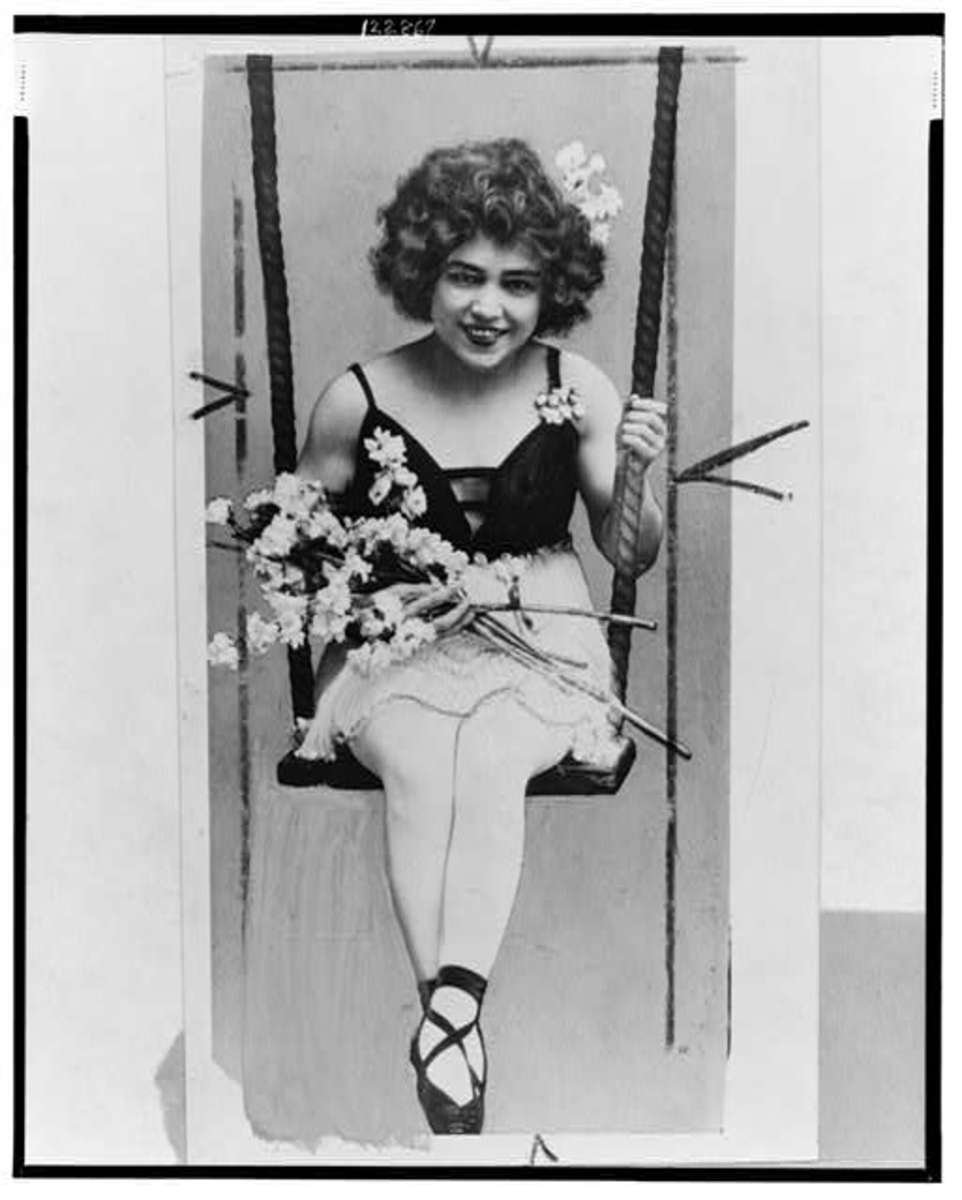 Mabel associated with Hungarian/Czech acrobat when she signed a contract for Ringling Brothers. Leitzel swung her body over her shoulder several feet in the air hundreds of times.