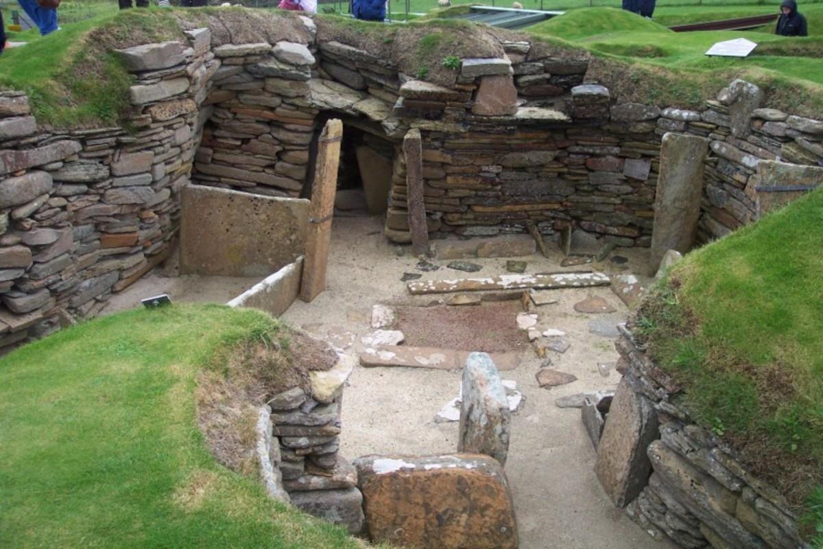 Dwelling at Skara Brae