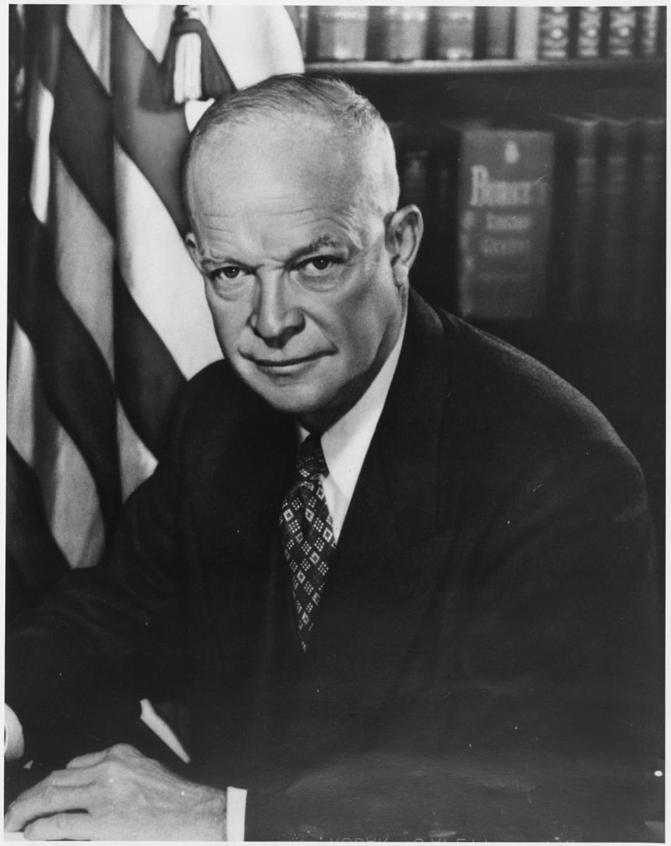 "The President at the time, Dwight Eisenhower, strongly disagreed with McCarthyism, although he declined to confront him directly .  He declared on several occasions in reference to McCarthy: ""I will not get in the gutter with that guy."""