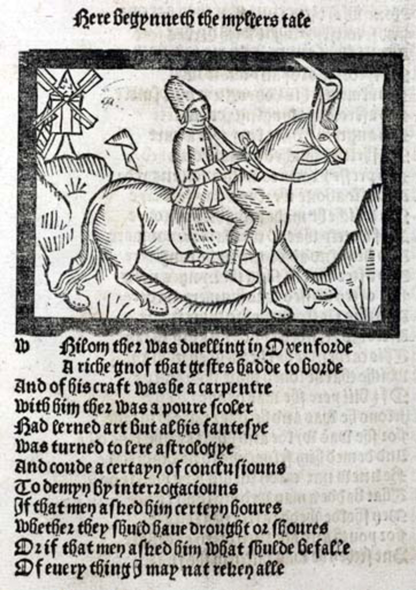 an-analysis-of-the-millers-tale-in-geoffrey-chaucers-the-canterbury-tales